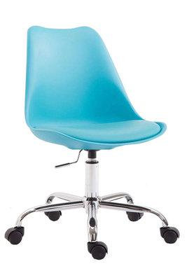 Bureaustoel Teulouso Kunststof Blauw
