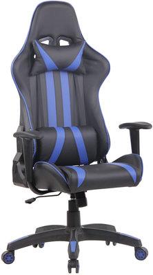 Bureaustoel Kona Zwart/Blauw