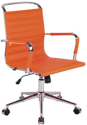 Bureaustoel Bortan Oranje,Kunstleder