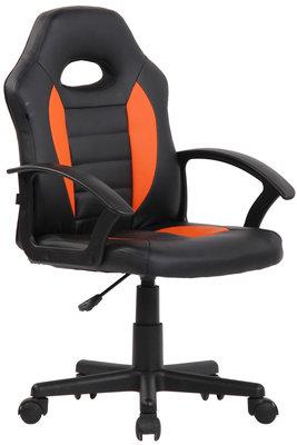 Kinderbureaustoel Fimis Zwart/Oranje