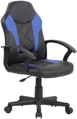 Kinderbureaustoel Tofa Zwart/Blauw