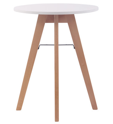 Keukentafel Voktir 60 cm, Wit