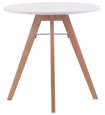 Keukentafel Voktir 75 cm, Wit