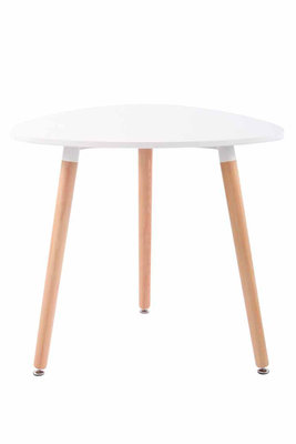 Keukentafel Ibinri Wit,80 cm