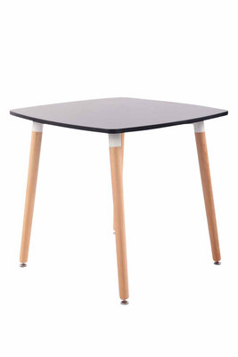 Keukentafel Vobirg Zwart,80 cm