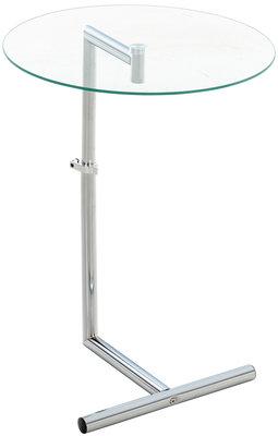 Glazen bijzettafel Sifa klarglas,