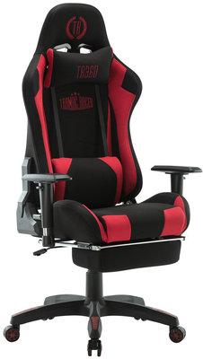 Bureaustoel Turbo LED Zwart/Rood,Stoff