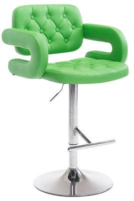 Barkruk Diblun Groen,Chroom
