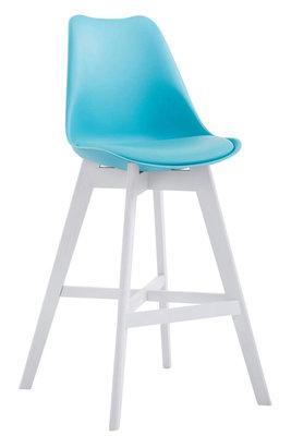 Barkruk Cennas Kunststof Blauw,Wit