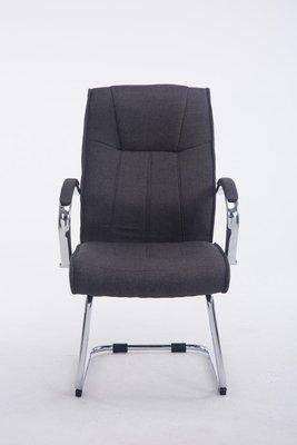 Bezoekersstoel Besal V2 stof Grijs