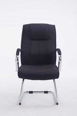 Bezoekersstoel Besal V2 stof Zwart