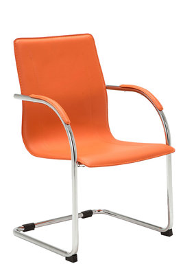 Bezoekersstoel Maline V2 Oranje
