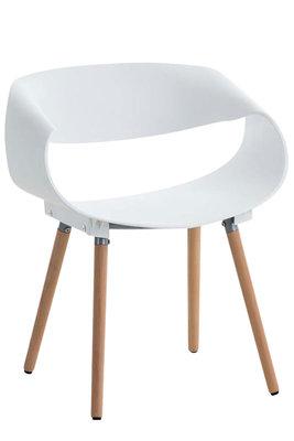 Bezoekersstoel Tavu Wit
