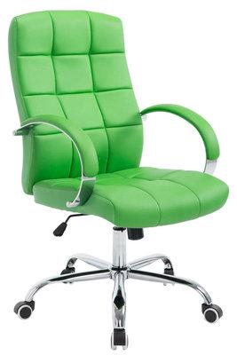 Bureaustoel Mokis Kunstleer Groen