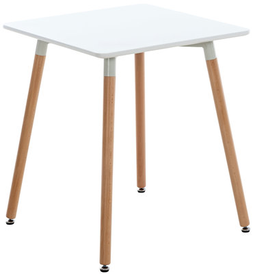 Keukentafel Vobirg Wit,60 cm