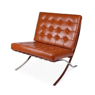 Barcelona Chair Cognac Variatie 1