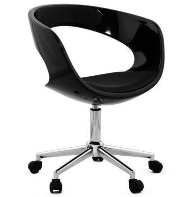 Bureaustoel Madison Zwart - Trendy/Modern Design