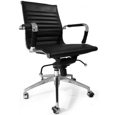Bureaustoel Small Boss Zwart - Inspired by Charles and Ray Eames
