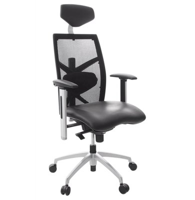 Ergonomische Bureaustoel Toledo Zwart (o.a. voor rugklachten)
