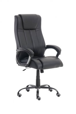 Bureaustoel Una Zwart