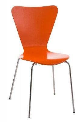 Eetkamerstoel Silke Oranje