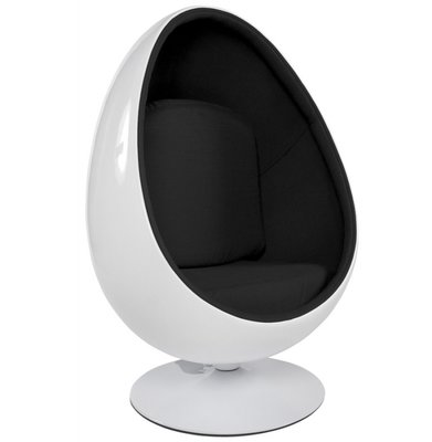 Fauteuil Valerie (Egg Chair / Ei Stoel) Wit