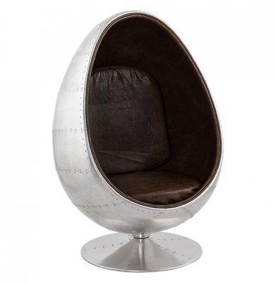 Fauteuil Valerie (Egg Chair / Ei Stoel) Aluminium