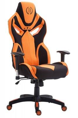 Gaming Stoel Dylan Stof Oranje