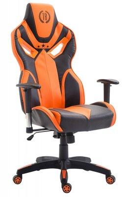 Gaming Stoel Dylan Kunstleer Oranje