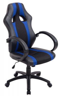 Gaming Stoel Vince Zwart Blauw