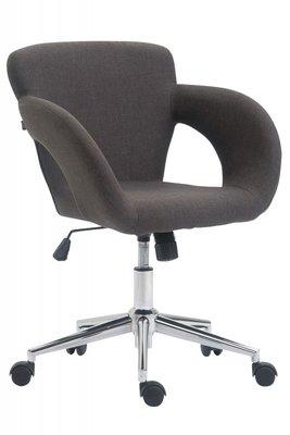 Bureaustoel Ainhoa Stof-Donkergrijs-Trendy-Modern