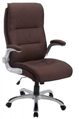 Directiestoel - Bureaustoel Inara Stof Bruin (comfortabel - zware belasting)