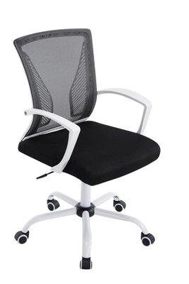 Bureaustoel Claartje Zwart-Netbekleding-Modern-Trendy