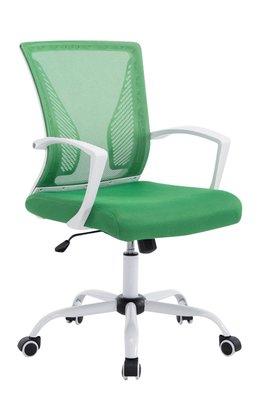 Bureaustoel Claartje Groen-Netbekleding-Modern-Trendy