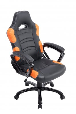 Gaming Stoel Dexter Zwart Oranje