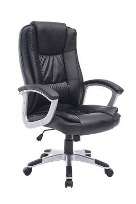 Bureaustoel Nore Zwart (Ideaal voor grote en zware personen)