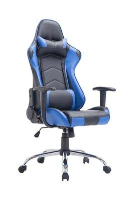 Gaming Stoel Darius Zwart Blauw