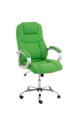 Bureaustoel Marrit Groen (extra brede bureaustoel - brede zitting - zware belasting)