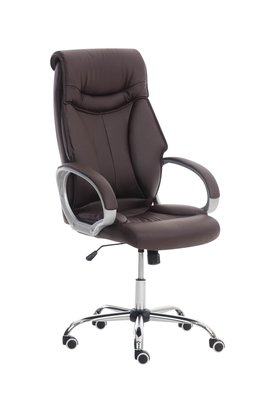Bureaustoel Rhode Bruin - Comfortabel