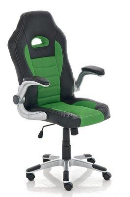 Gaming Stoel Aaren Zwart Groen