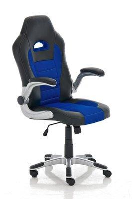 Gaming Stoel Aaren Zwart Blauw