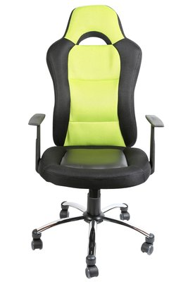 Bureaustoel Lenne Zwart Groen