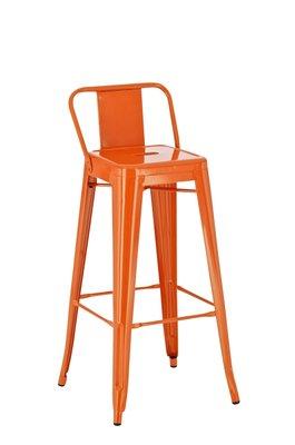 Barkruk Faya Oranje