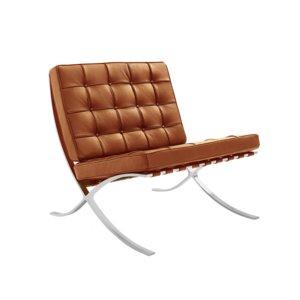 Barcelona Chair Splitleder Cognac