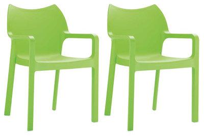SET van 2 stapelstoelen DAVI
