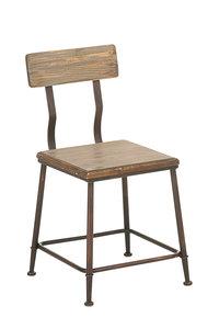 Industrial design stoel Qeeuns bronze,