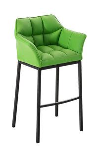 Barkruk Damaso Kunstleer Groen,Zwart