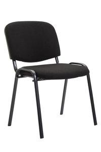 Bezoekersstoel Kin Stof Zwart