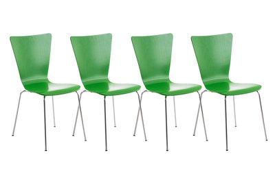 4x bezoekersstoel Oaran Groen