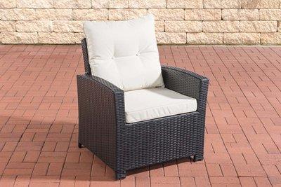 PolyRoodan fauteuil Fosoli Zwart,CremeWit